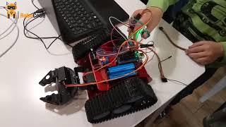 Программирование и робототехника. Проект робо-клешня.