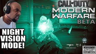 MODERN WARFARE Beta DAY 3 😈 New NIGHT VISION MODE! | PS4 PRO | LEVEL CAP 20 | NVG Gameplay