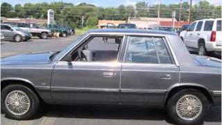 preview picture of video '1987 Plymouth Reliant Used Cars Elkton Newark MD'