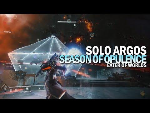 Solo Argos in Season of Opulence [Destiny 2]