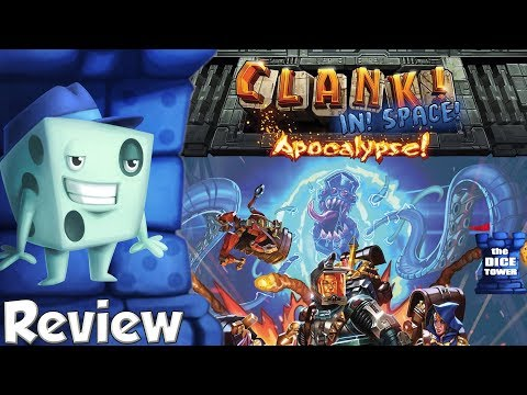 Clank! In! SPACE!: Apocalypse! Review - with Tom Vasel