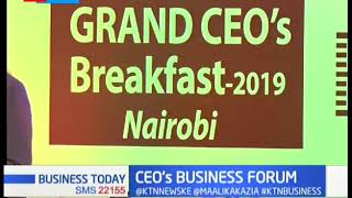500 E.African CEO\'s gather in Nairobi giving SME Leaders a chance to network | BUSINESS TODAY