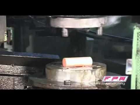 Prensa de husillo, friction screw press, prensado latón en caliente, hot forging brass, spindelpressen