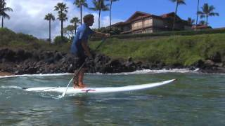 SUP instruction with Dave Kalama: How to Stand Up Paddle Board:  Lesson 04 - Paddling