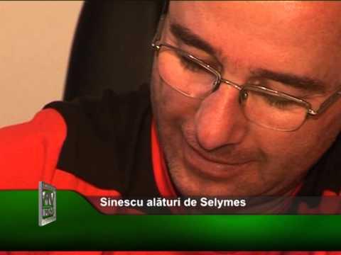 Sinescu alaturi de Selymes