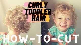 How-to-Cut Curly Toddler Hair