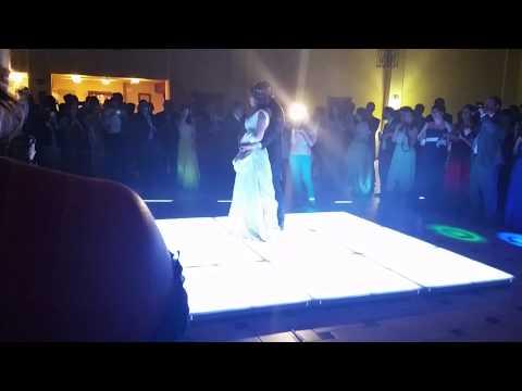 Pista led para bodas