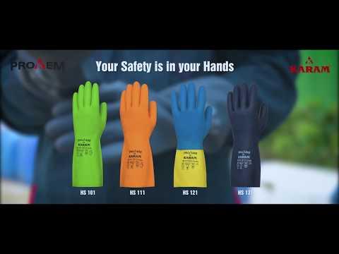 Karam HS101 Chemical Resistant Hand Gloves