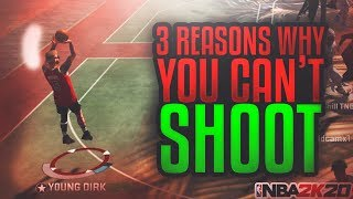 How to FIX YOUR JUMPSHOT In 3 Easy Steps - NBA 2K20