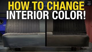 ColorBond   Change Interior Color On Leather, Vinyl, Fabric, Metal And Most Hard Plastics! Eastwood