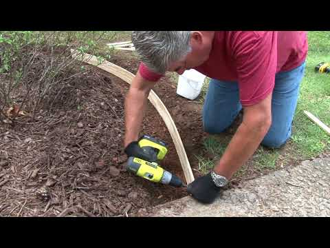 Building Concrete Lawn Borders