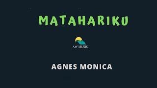 AGNES MONICA MATAHARIKU (KARAOKE+LYRICS) BY AW MUSIK