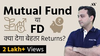 Mutual Funds & Share Market Returns vs Fixed Deposit (FD) | Recession 2020, Corona Crisis in India