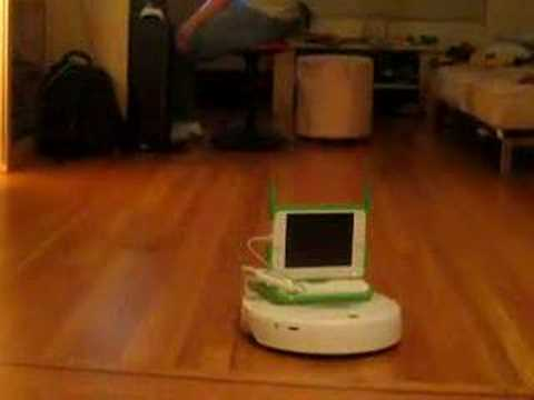 XO Laptop Hacked to Remotely Run Roomba 'Round Rooms