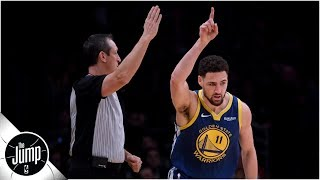 'Microwave Klay' Thompson is scary, but is he scariest thing about Warriors?   The Jump
