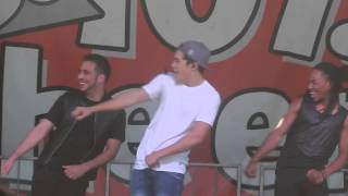 Austin Mahone - Say You're Just A Friend (Live in Sacramento) 5/11/2014
