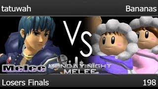 MNM 198 - tatuwah (Marth) vs MB | Bananas (ICs) Losers Finals - Melee