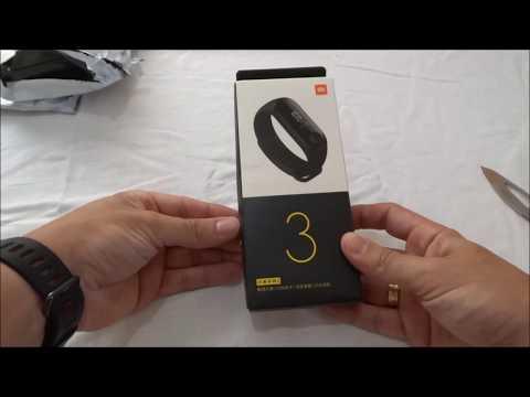 Unboxing Mi Band 3 - Impressões da smartband da Xiaomi Português