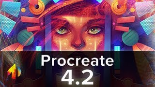 Procreate 4.2 Update! - Crop & Resize, Clipping masks, Liquify and more!