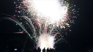 Launching An Entire Fireworks Display At Once