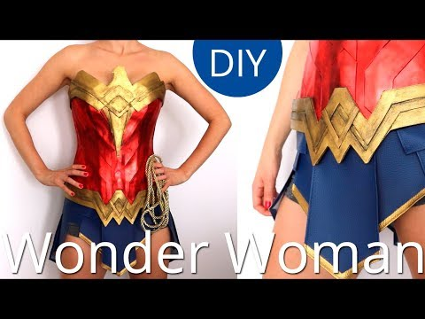Haz la Armadura de Wonder Woman I Cosplay I Craftabulous