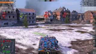 WoT Blitz    FV215b 183 - 8400+ DMG
