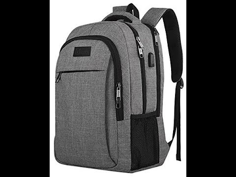 Amazon Matein Travel Laptop Backpack Opening & Review