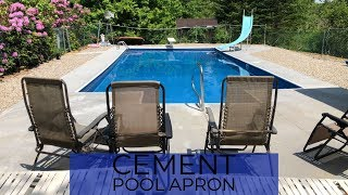 Cement Pool Apron
