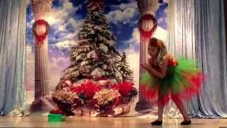 Nightmare Before Christmas pageant routine with the Chipmunk song