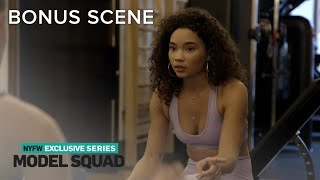 Ashley Moore Meets a Fellow Model at the Gym | Model Squad | E! - Video Youtube