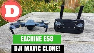 Eachine E58 In-Depth Review & Unboxing - DJI Mavic Clone!