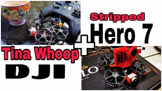 Why the Diatone Tina Whoop is the best Isolation quadcopter / DJI caddx vista / Stripped Hero 6/7