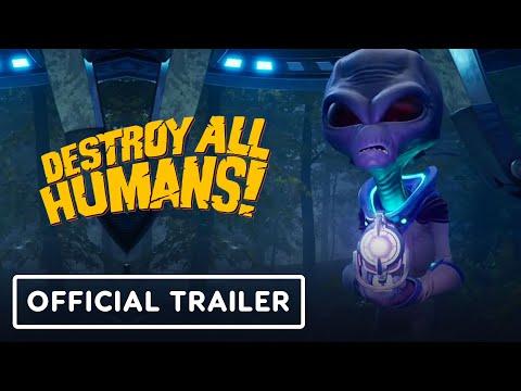 Destroy All Humans! - Official Trailer