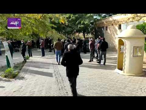 زكريا عزمي يشارك في جنازة صفوت الشريف