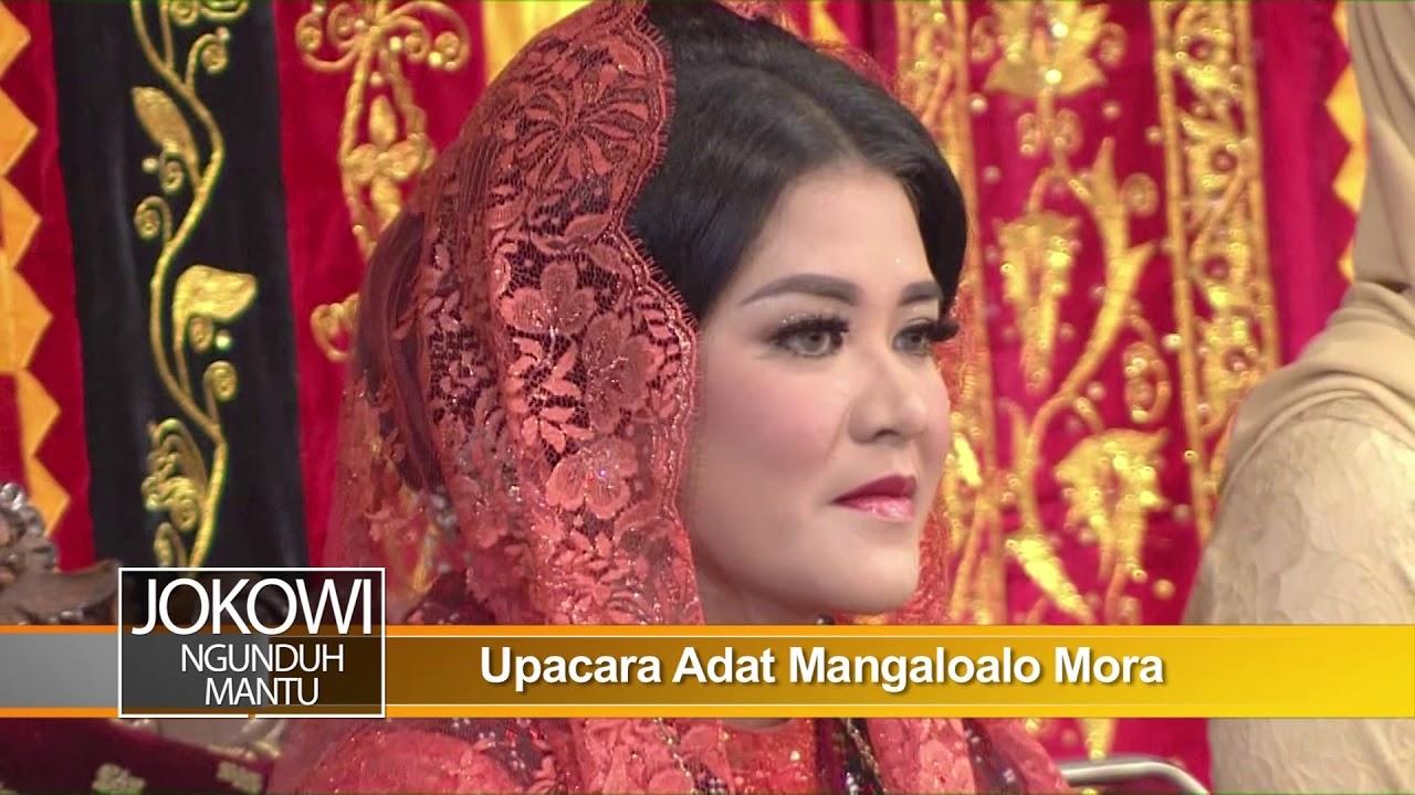 Jokowi Ngunduh Mantu Upacara Adat Mangaloalo Mora