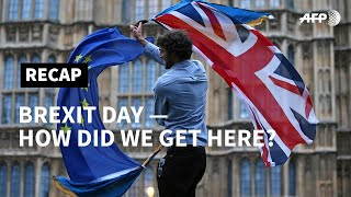 Brexit Day: Britain has left the EU — but how did it all come about? | AFP -NAGRANIE W JEZYKU ANGIELSKIM