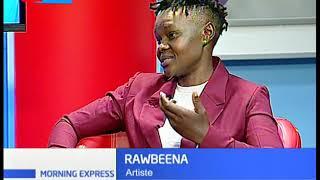 Finland-based Kenyan singer Sylvia Barasa aka Rawbeena  | Celebrity Chat