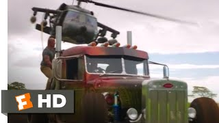 Hobbs & Shaw (2019) - Helicopter vs. Trucks Scene (8/10)   Movieclips