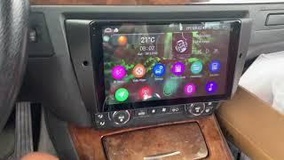 "Installation Demo - Joying New 9"" BMW E90/E92 Head Unit Android Auto radio"