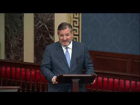 Sen. Cruz Slams Democrat Political Games on the Senate Floor Over Debt Limit