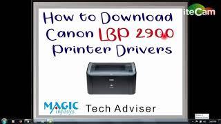 download driver canon 2900b
