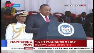 President Uhuru urges media to convey positive stories about Kenya#MadarakaDay2019