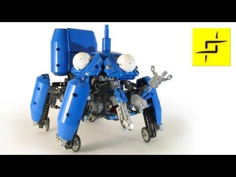 0 【動画】レゴ+タチコマ+ラジコン