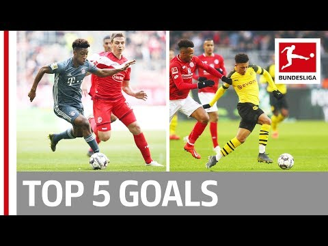 Sancho, Coman, Gnabry & More - Top 5 Goals on Matchday 29