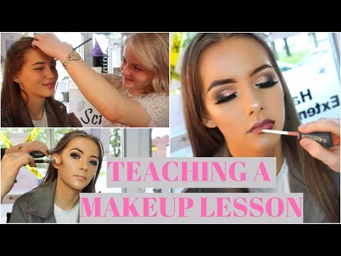 Teaching a Beginner How to Do Makeup ( 1 on 1 MUA Lessons ) ♡ | Lucygfilmmakeup // Kosmos Media