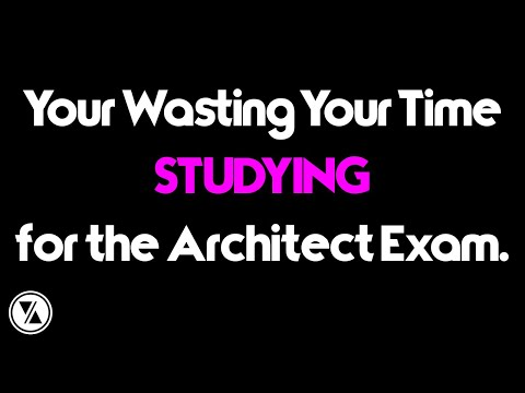Your Wasting Your Time STUDYING for the ARE! - YouTube