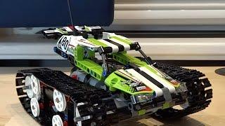 "Ausgepackt - Lego Technic 42065 ""Tracked Racer"" + B-Modell - Review mit Speed Build und PF L Mod"