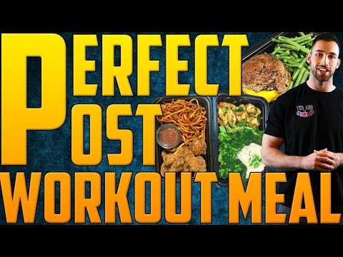 PERFECT Post Workout Meal | What to Eat After a Workout | Post Workout Nutrition | Bodybuilding Food