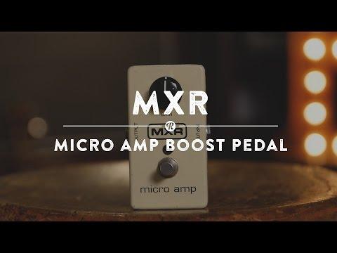 DUNLOP MXR M133 Micro Amp Kytarový efekt
