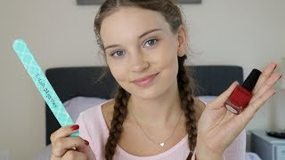 ASMR Painting Your Nails Roleplay ♥